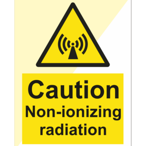 Caution Non-ionizing Radiation