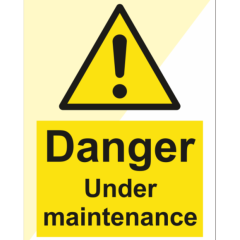 Danger Under maintenance