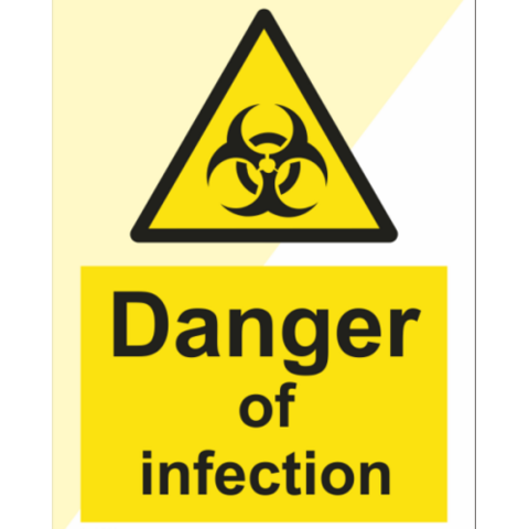 Danger of infection
