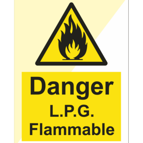 Danger L.P.G. Flammable