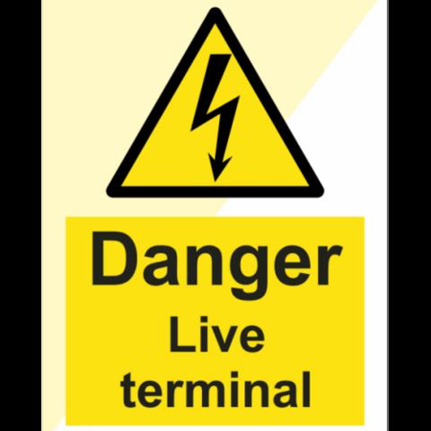 Danger Live terminal