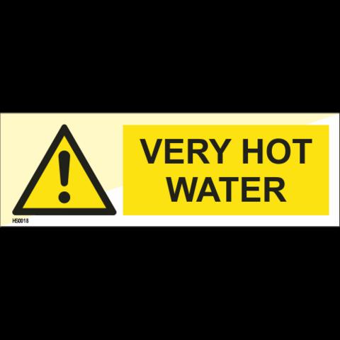 (Warning) Very Hot Water