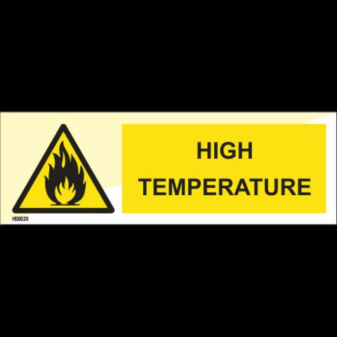 (Varoitus) Korkea lämpötila