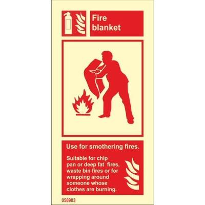 Palohuopa Käytä tulipalojen tukahduttamiseen