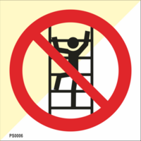 Kiipeily kielletty