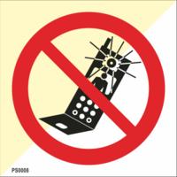 Puhelimella kuvaaminen kielletty