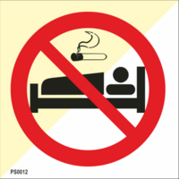 No smoke in bed