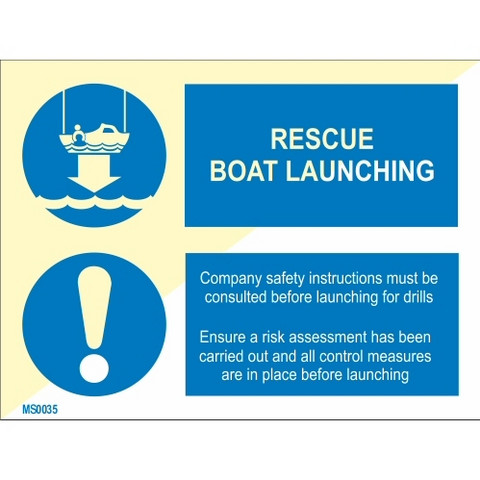 Rescue Boat Launching