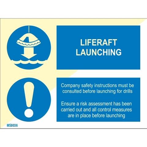 Liferaft Launching