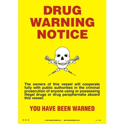 Drugs Warning Notice