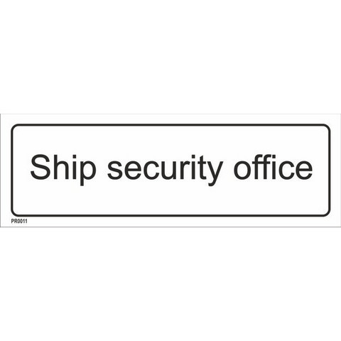 Ship Security Office