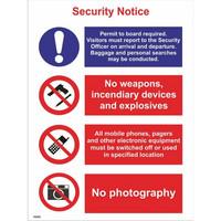 Turvallisuusilmoitus Vaaditaan pääsy lentokentälle ...