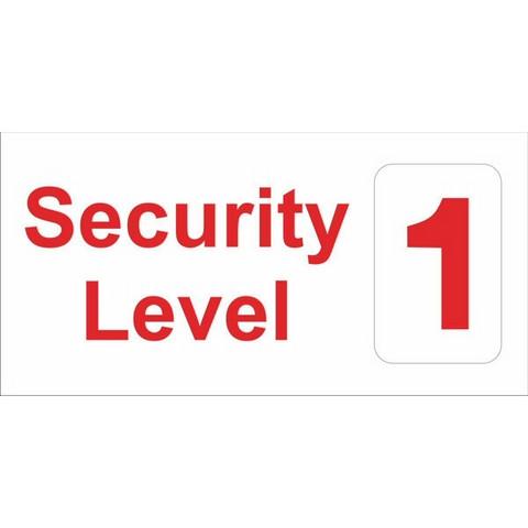 Security Level 1-2-3