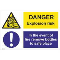 Danger! Explosion risk