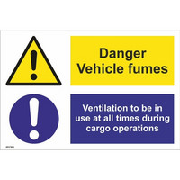 Danger! Vehicle fumes