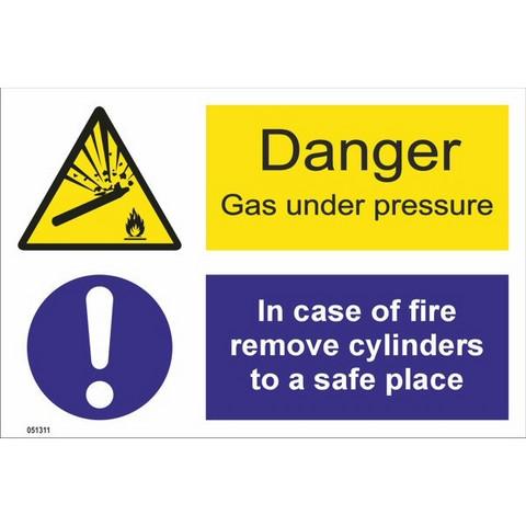 Vaara! Kaasu paineen alaisena