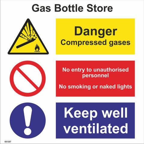 Gas Bottle Store