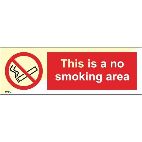 Tämä on savuton alue