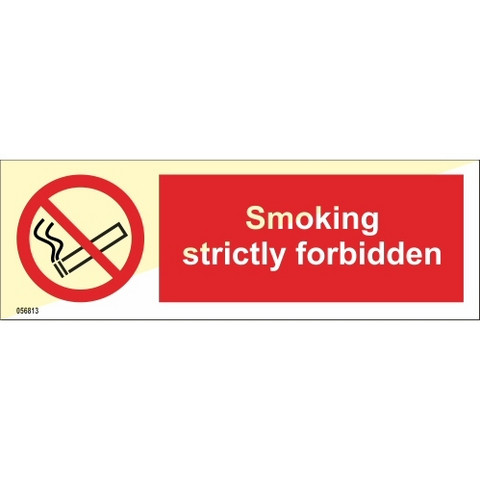Smoking strictly forbidden