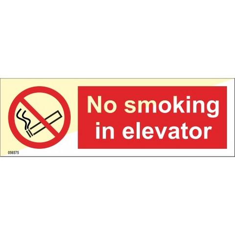 Tupakointi kielletty hississä