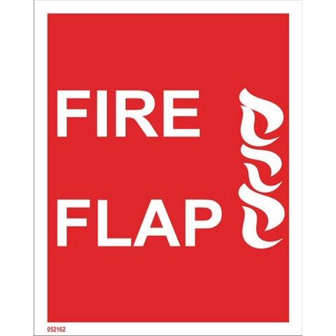 Fire flap