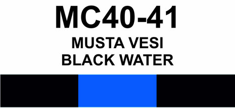 MC40-41 Musta vesi  | Black water