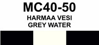 MC40-50 Harmaa vesi | Gray water
