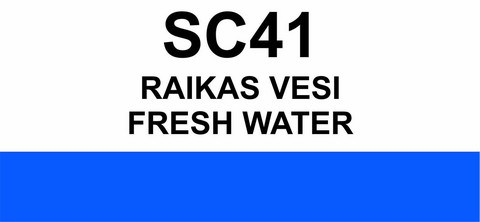 SC41 Raikas vesi  | Fresh water