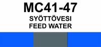 MC41-47 Syöttövesi | Feed water