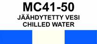 MC41-50 Jäähdytetty vesi | Chilled water