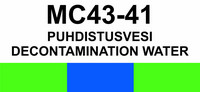 MC43-41 Puhdistusvesi | Decontamination water