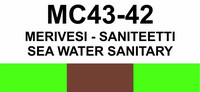 MC43-42 Merivesi - saniteetti | Sea water sanitary