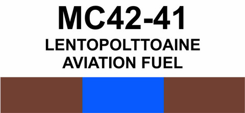 MC42-41 Ilmapolttoaine | Aviation fuel