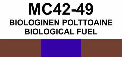 MC42‑49 Biologinen polttoaine | Biological fuel