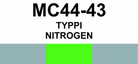 MC44-43 Typpi | Nitrogen