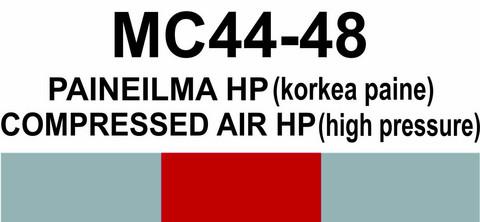 MC44-48 Paineilma HP (korkea paine) | Compressed air HP (high pressure)