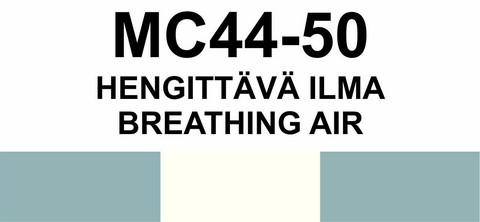 MC44-50 Hengittävä ilma | Breathing air