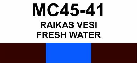 MC45-41 Raikas vesi | Fresh water