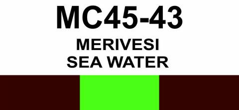 MC45-43 Merivesi   Sea water