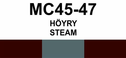MC45‑47 Höyry | Steam