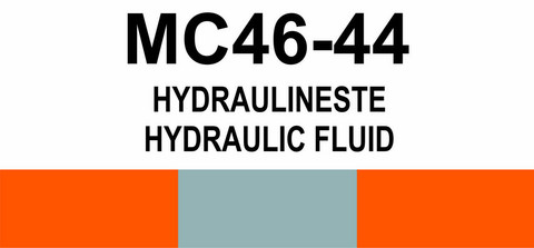 MC46‑44 Hydraulineste | Hydraulic fluid