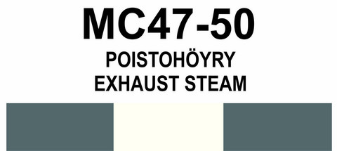 MC47‑50 Poistohöyry | Exhaust steam