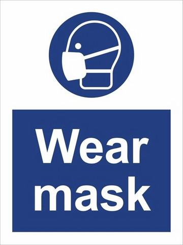 COVID-19 Wear mask