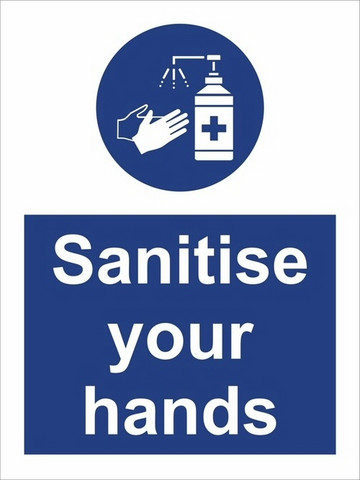COVID-19 Sanitise your hands