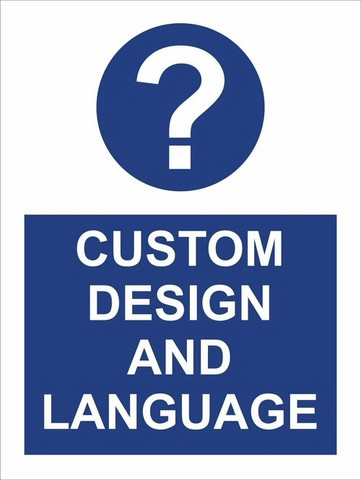 COVID-19 Custom design and language