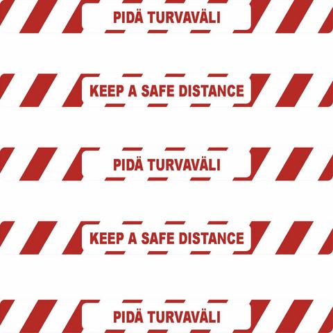 COVID-19 Keep a safe distance