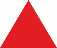 Triangle red 100