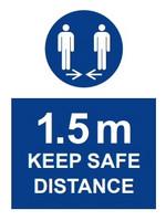 COVID-19 Pidä turvallinen etäisyys