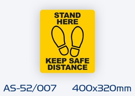 AS-52/007 Non-slip floor sign