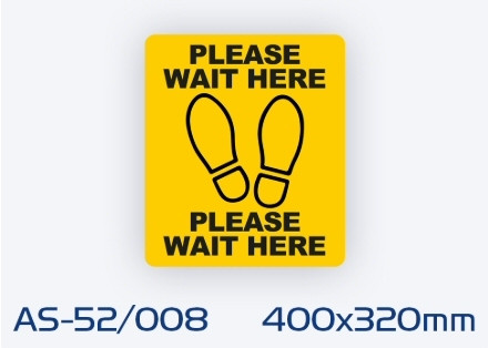 AS-52/008 Non-slip floor sign